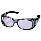 Versi Overshields Versi Overshields. Lightly Tinted Grey Frame w/ Black Tips