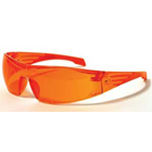 Wrap Cons Bonding Eyewear, Dual-injected non-slip TPR temple tips. Blocks up