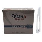 RMH3 Dental #15 Sterile Stainless Steel Surgical Blade 100/Bx. Individually