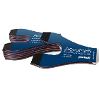 AccuFilm Full Arch Red/Blue horseshoe double-sided articulating paper, 6