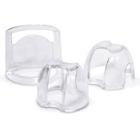 Dry-Field Clear lightweight autoclavable plastic mouth props, assorted sizes
