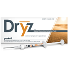 Dryz Gingival Hemostatic Retraction Paste 7 x 0.5gm Syringes and 15 Applicator Tips. Stops