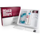 MucoHARD Hard Reline Kit, Translucent Pink, 50ml cartridge Autopolymerizing Resin, 10ml Bonding