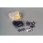 Isolators Cotton Roll Holder Disposable, Box of 10 Holders. Adaptable to cotton roll sizes #1, 2 &