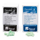 Racellet #3 Green Cotton Retraction Pellets impregnated with 0.55 mg Racemic Epinephrine, Box