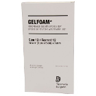 GelFoam Sponges 4/Box. Sterile, 12 sq cm (2 x 6 cm) x 7 mm. Singe-use sterile absorbable gelatin