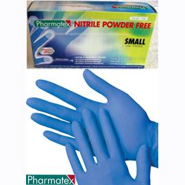 Maverick Nitrile Exam Gloves Medium Powder Free Textured Finger