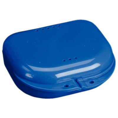 "Chroma Retainer Box - Dark Blue, 3-1/8""W x 3""L x"