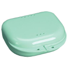 "Chroma Retainer Box - Mint Green, 3-1/8""W x 3""L x 1""H, Package of 12 Boxes"