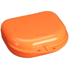 "Chroma Retainer Box - Orange Yellow, 3-1/8""W x 3""L x 1""H, Package of 12 Boxes"
