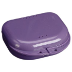 "Chroma Retainer Box - Dark Purple, 3-1/8""W x 3""L x 1""H, Package of 12 Boxes"