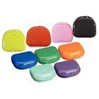 "Chroma Retainer Box - Assorted Colors, 3-1/8""W x 3""L x 1""H, 12/Box"