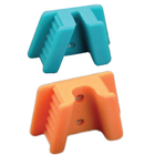 EXTND Silicone Mouth Props - Medium (Child), Orange 2/Pk. Sterilizable by all
