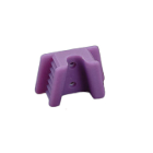 EXTND Silicone Mouth Props - Large (Adult), Dark Purple 2/Pk. Sterilizable