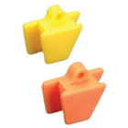 EXTND Silicone Mouth Props - Small (Pedo), Orange 2/Pk. Sterilizable by all