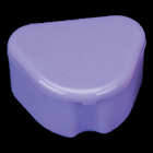 "Lite Flavors Neon Purple Retainer Boxes - Deep 3""W x 1-1/2""D, package of 12"