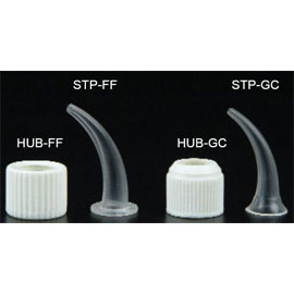 Plasdent Tips for Free Flow Syringe, Clear 100/Pk