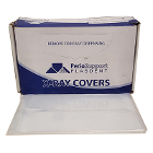 "Plasdent 15"" x 26"" X-Ray head covers, 500/box. Clear plastice sleeves designed"