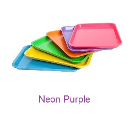 "Plasdent Set-up Tray Flat Size B (Ritter) - Neon Purple, Plastic 13-3/8"" x"