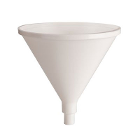 "Plasdent Dry Oral Cup, 4"" diameter. White Heavy Duty Plastic, Autoclavable"
