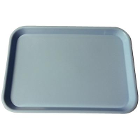 "Plasdent Set-up Tray Flat Size B (Ritter) - Blue, Plastic 13-3/8"" X 9-5/8"" X"