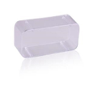 Plasdent Bur Block Cover for 400BR Bur Blocks, Clear Acrylic. Cold disinfect