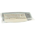 "Plasdent Standard Keyboard Cover with cuff 22"" x 14"" 250/Bx. Plastic sheet"