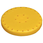 Plasdent Large Round Bur Block - Neon Yellow, Mag