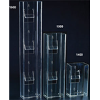 "Plasdent Clear Acrylic Double Vertical Glove Box Holder/Dispenser, 5 3/4""W x"
