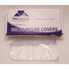 Plasdent Disposable poly computer mouse protective barrier sleeves, 500/Bx