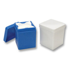 Plasdent Blue 2x2 Sponge Dispenser, Autoclavable. Single dispenser