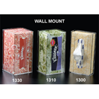 Plasdent Vertical Tissue Box Dispenser, Wall Mount, For Tissue Boxes Measuring to 4 3/4