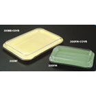 Plasdent Mini Tray Cover, Flat, Size F - Clear. Lid Only
