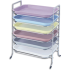 "Plasdent Tray Rack for Size B Trays, Long Side Loading, 14-1/2"" x 9-3/4"" x"