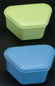 ProBath Denture Boxes, Color: Green Tea, Heavy Ga