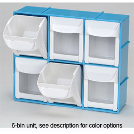 Quick Access Tilt Bin Storage System 6 11 1