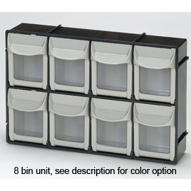 Quick Access Tilt Bin Storage System 8 11 1