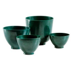 Spectrum Flowbowl FlowBowl Mixing Bowl, Large 600cc, Dark Green, Single bowl