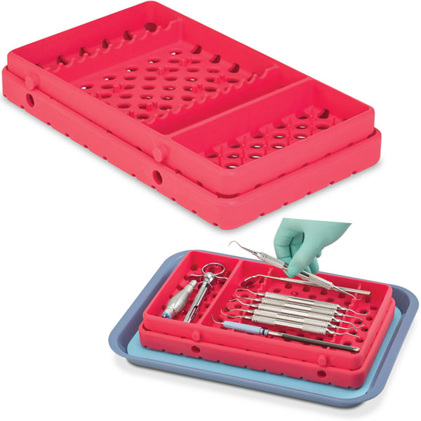 Cool Cassette 2 COOL CORAL 10XL Instrument Tray w