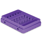 Cool Cassette 2 PURE PURPLE 10 Instrument Tray, 1/Pk. Holds instruments up