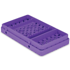Cool Cassette 2 PURE PURPLE 10XL Instrument Tray with Additional Compartment