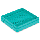 Cool Cassette 2 CLEAN GREEN 14 Instrument Tray, 1/Pk. Holds instruments up