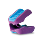 E-Prop Mouth Prop - Small (Purple), 1/Pk. Rigid polypropylene construction