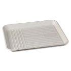 ECOsply Large Biodegradable Instrument Trays, 250/Case. FDA-approved food-grade