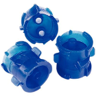 Lock-N-Reload Automix Cartridge Couplers, Blue, Disposable. Save up to 30% on