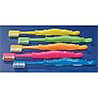 Practicon Child Toothbrushes, alligator-shaped handle, narrow neck