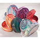 Practicon Marbled-Colored Retainer Cases, plastic, non-vented, 7/8