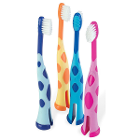 SmileGoods Y251 Giraffe Toothbrushes 72/Bx. Ultra-compact oval head holds 25