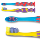 SmileGoods Y272 Child Toothbrushes with Suction Cup Base, 72/Bx. Each