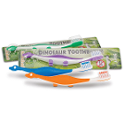 SmileGoods Y301 Dinosaur Toothbrush 72/Bx. Dinosaur toothbrush stands on its